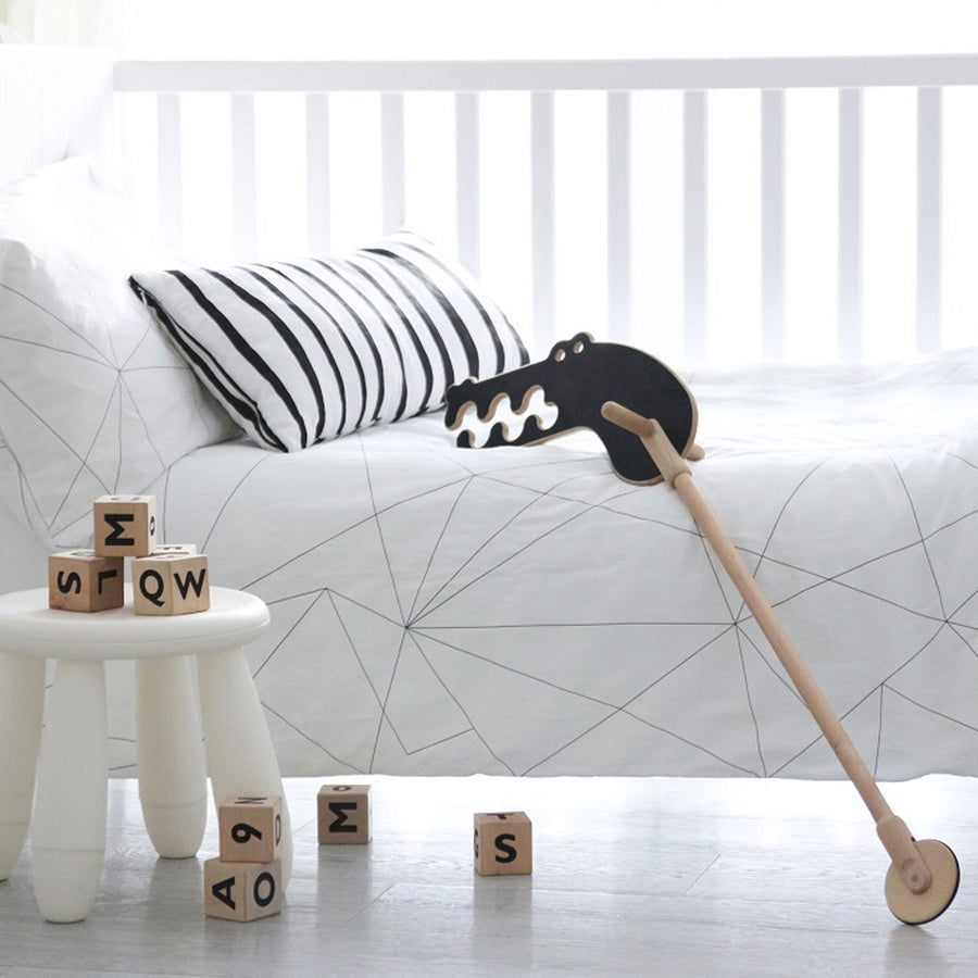 Geometric Web Bedding Set by ooh noo - minifili