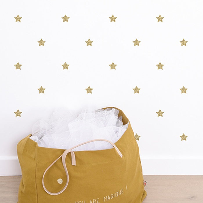 Glitter Stars Wall Sticker by Lilipinso - minifili