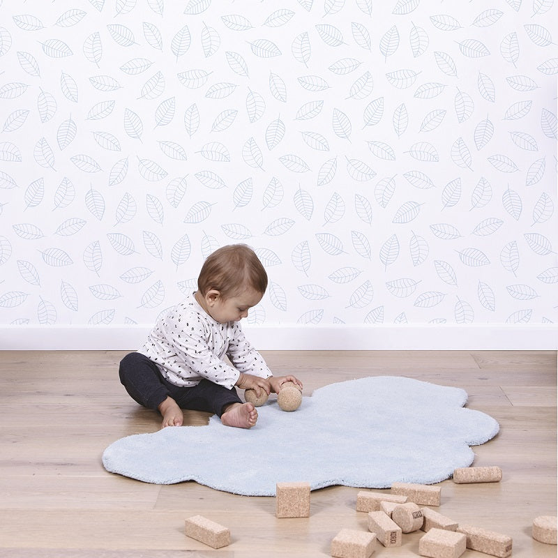 Lilipinso - Cloud Rug Blue