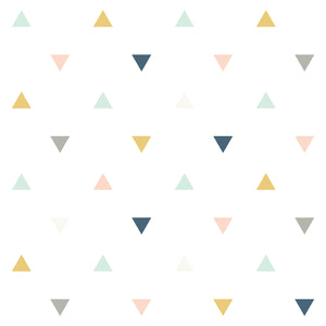 Triangles Wallpaper Pink by Lilipinso - minifili
