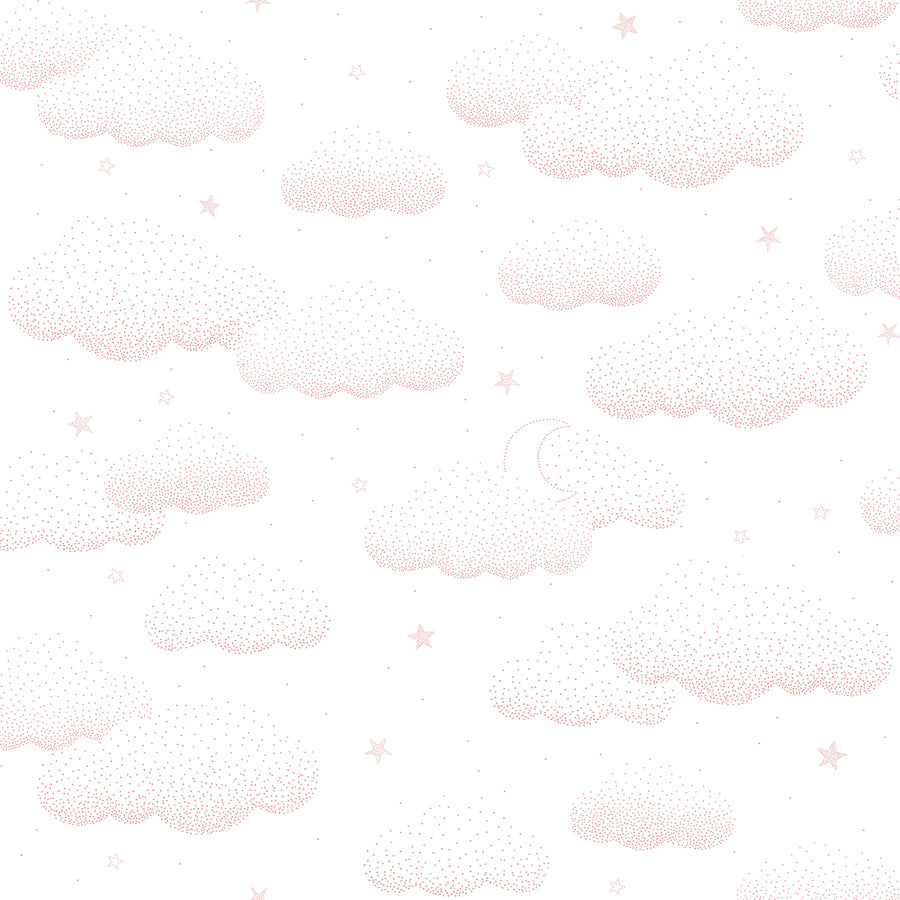 Clouds Wallpaper Pink