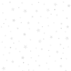 Stars Wallpaper Grey