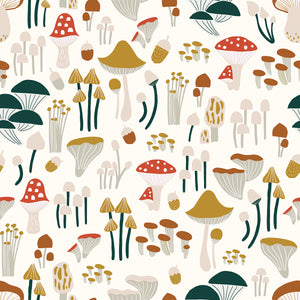 Mushrooms Wallpaper by Lilipinso - minifili