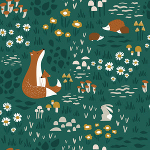 Woodland Animals Wallpaper by Lilipinso - minifili