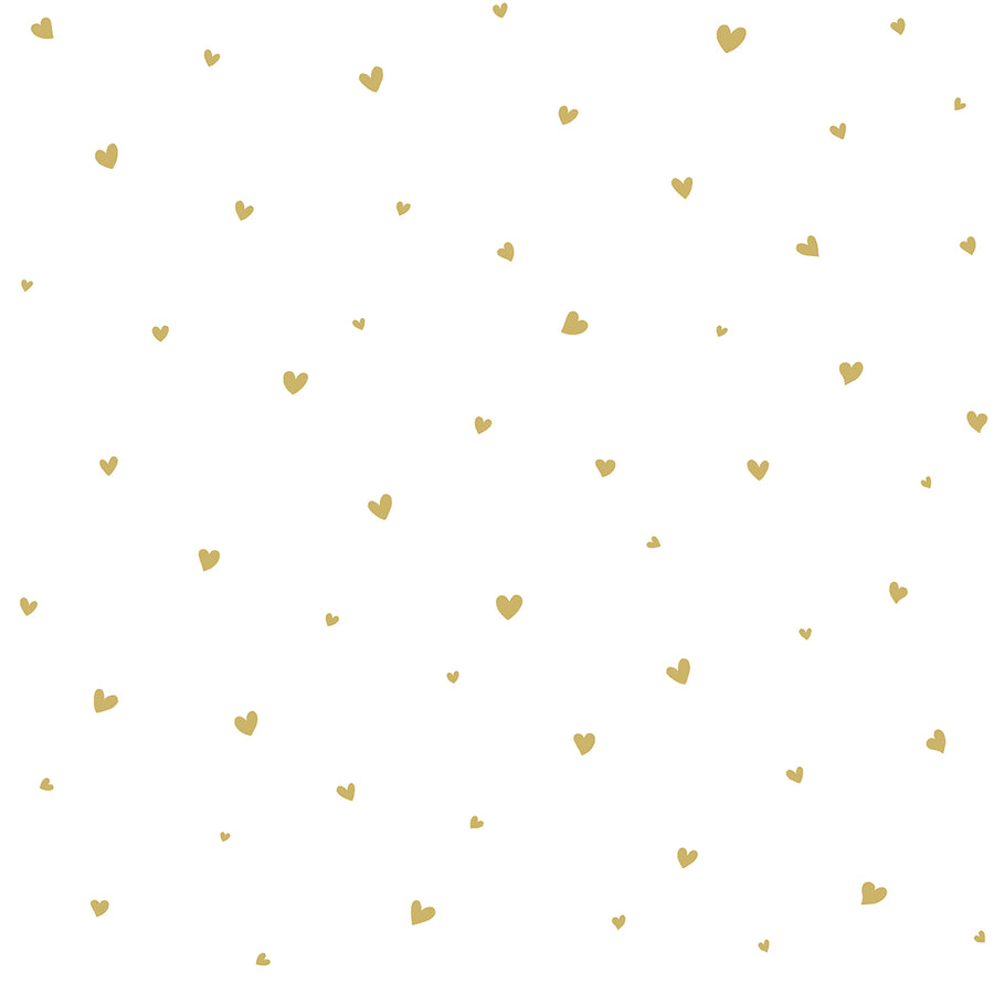Hearts Wallpaper Gold by Lilipinso - minifili