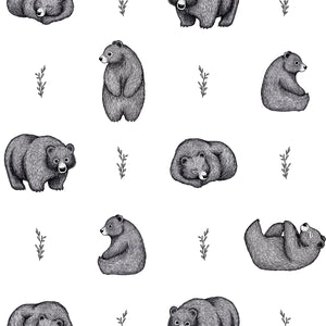 Black and White Bears Wallpaper by Lilipinso - minifili