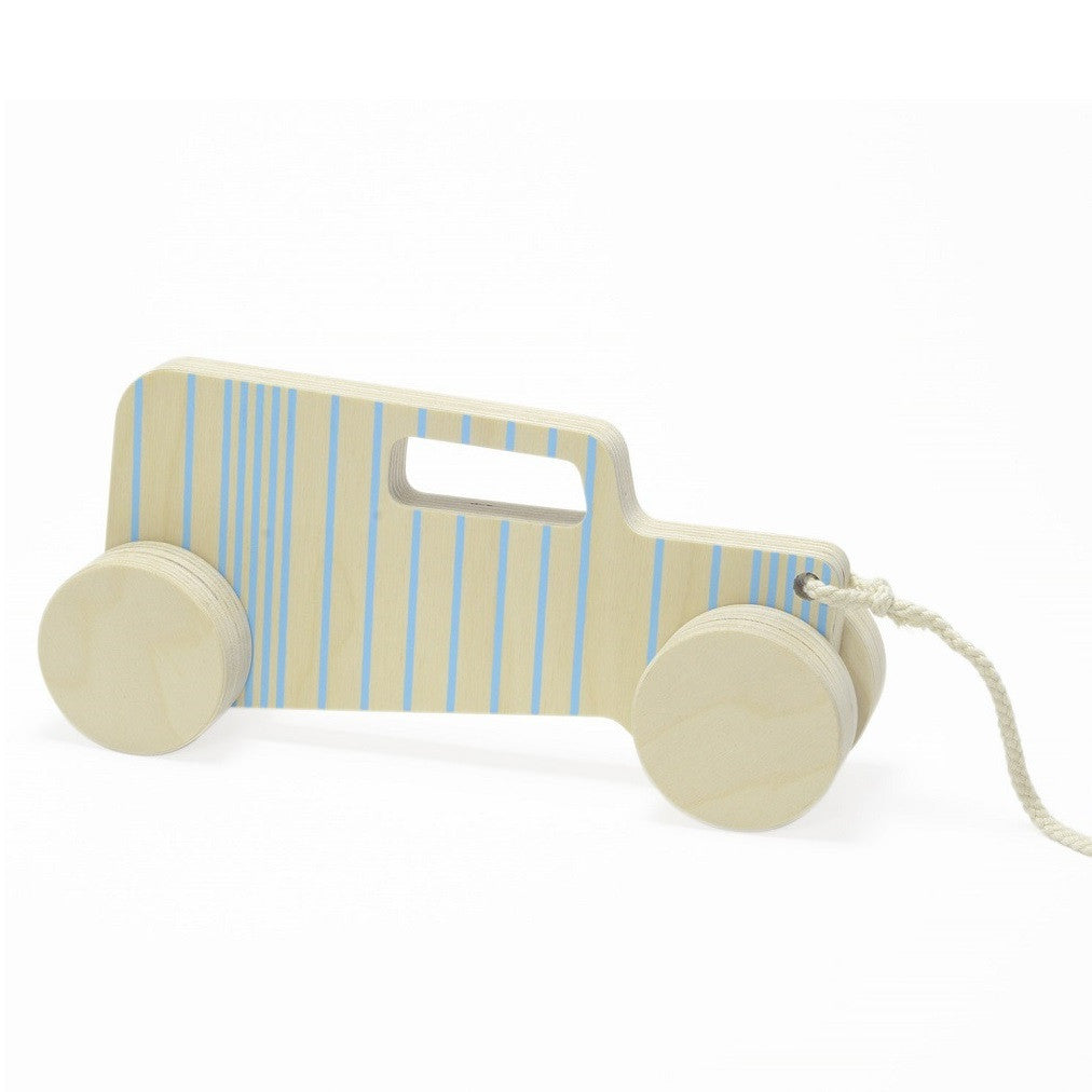 Studio delle Alpi - Hot-rod Sedan Pull-Toy Blue