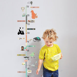 Animals Height Chart Wall Decal by MIMI'lou - minifili