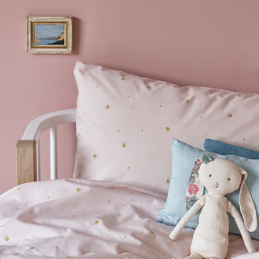 Crowns Bedding Set Pale Rose by Hibou Home - minifili