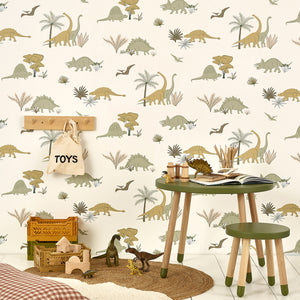 Dinosaurs Wallpaper by Hibou Home - minifili
