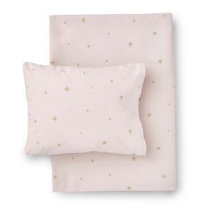 Starry Sky Bedding Set Pale Rose by Hibou Home - minifili