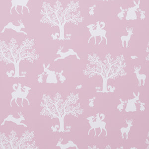 Enchanted Wood Wallpaper Peony by Hibou Home - minifili