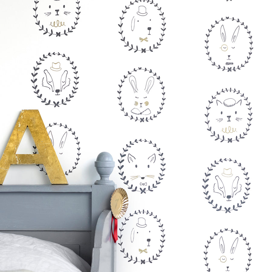 Portraits Wallpaper by Hibou Home - minifili