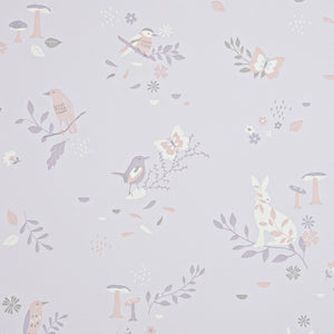 Secret Garden Wallpaper Blush Pink by Hibou Home - minifili