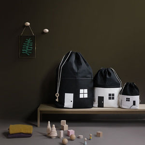 House No. 1 Storage Bag by Rock&Pebble - minifili