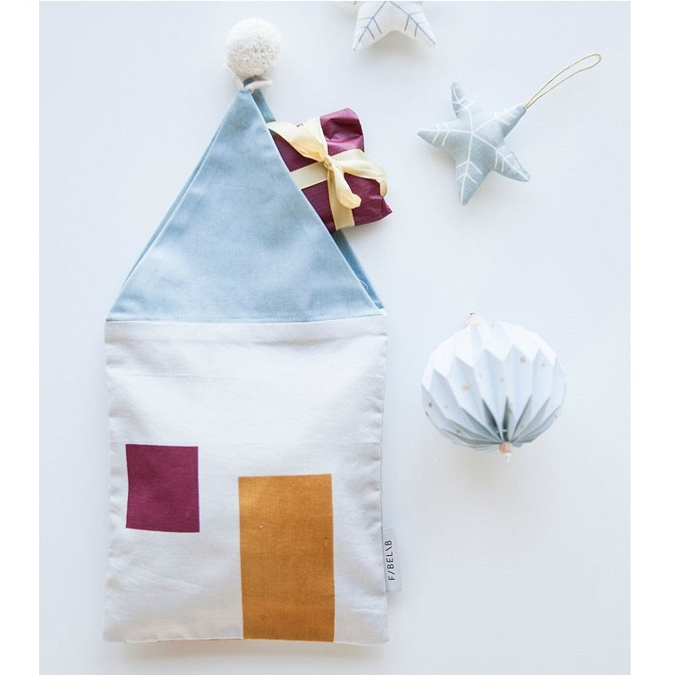 Fabelab - Cotton Gift Bag Cosy House
