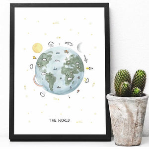 The World Print by Kid of the Village - minifili