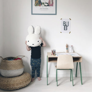Kids Desk & Chair Small Green by In2Wood - minifili