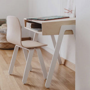Kids Desk Large White by In2Wood - minifili
