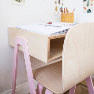 Kids Desk Small Pink by In2Wood - minifili