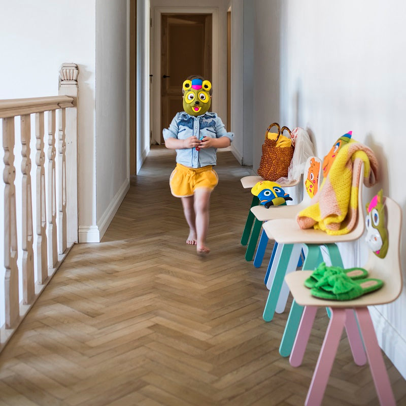 Kids Chair Small Yellow by In2Wood - minifili
