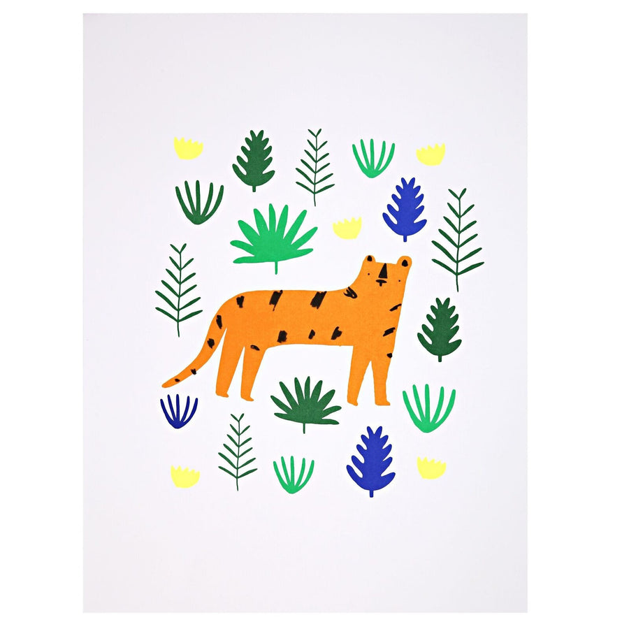 Jungle Art Prints (set of 2) by Meri Meri - minifili