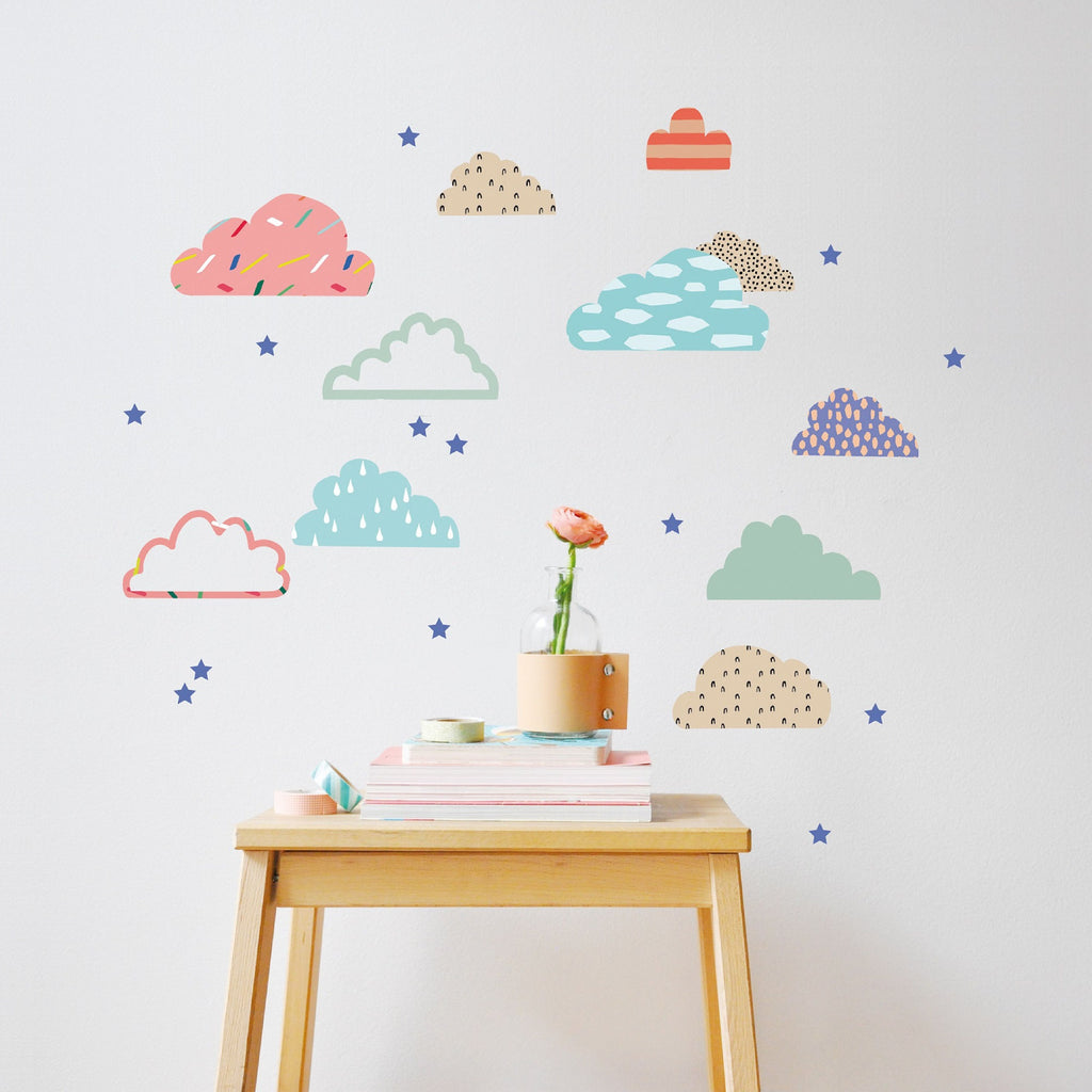 MIMI'lou - Just a Touch - Cloudy Wall Sticker