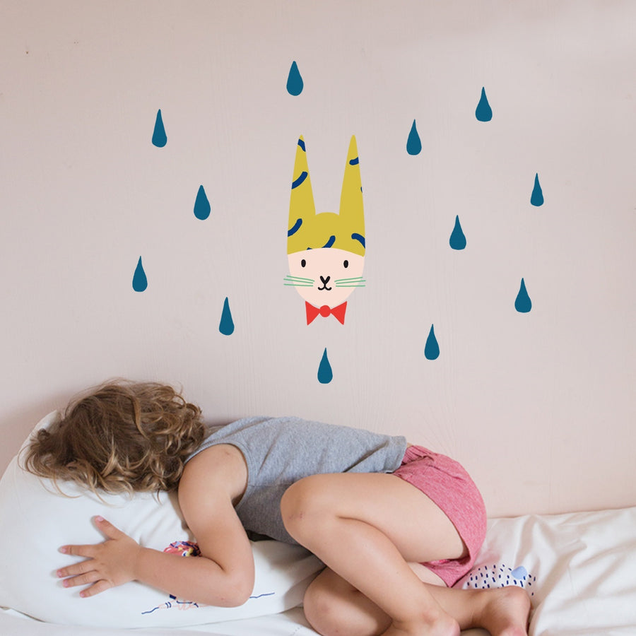 Just a Touch - Rabbit Wall Sticker by MIMI'lou - minifili