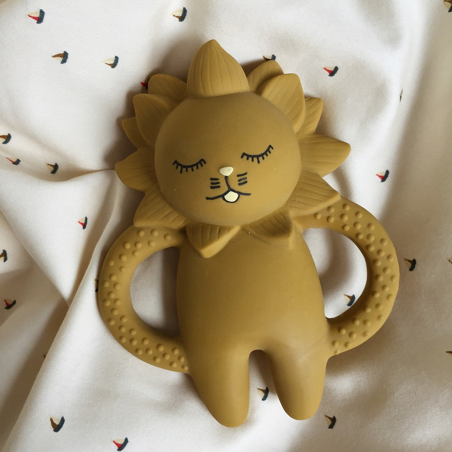 Lion Teether by Konges Slojd - minifili