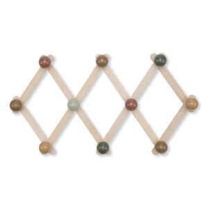 Wooden Coat Rack Blue by Konges Slojd - minifili