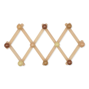 Wooden Coat Rack Rose by Konges Slojd - minifili