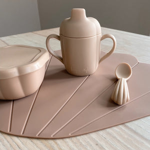 Clam Placemat Blush by Konges Slojd - minifili