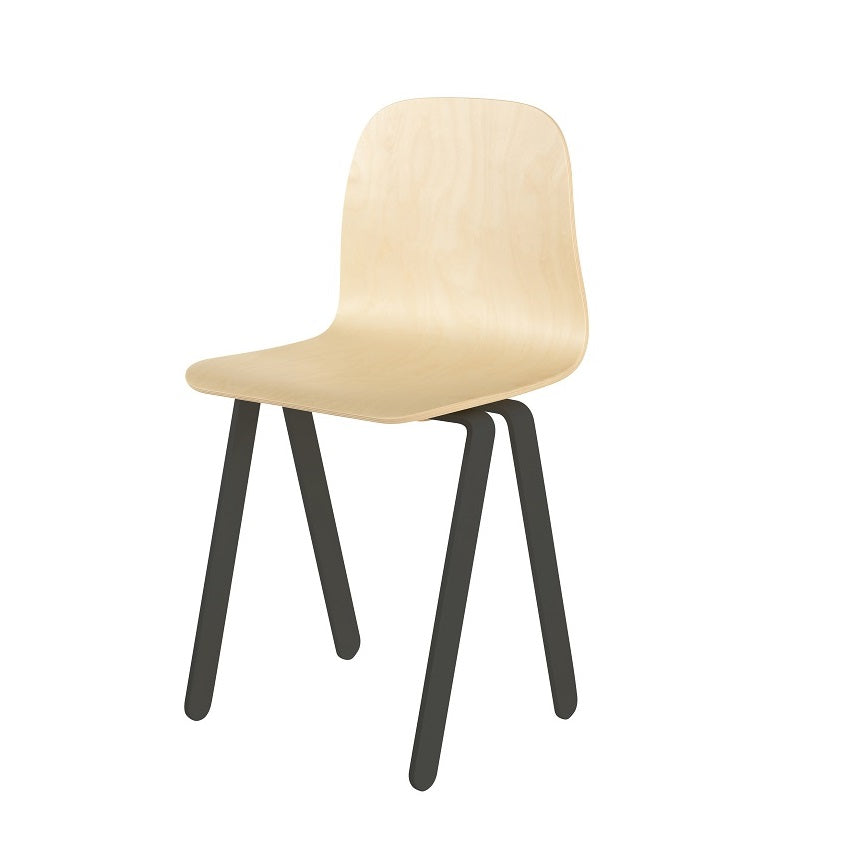 In2Wood - Kids Chair Large Black