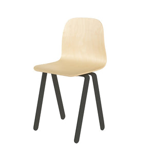 Kids Chair Large Black by In2Wood - minifili