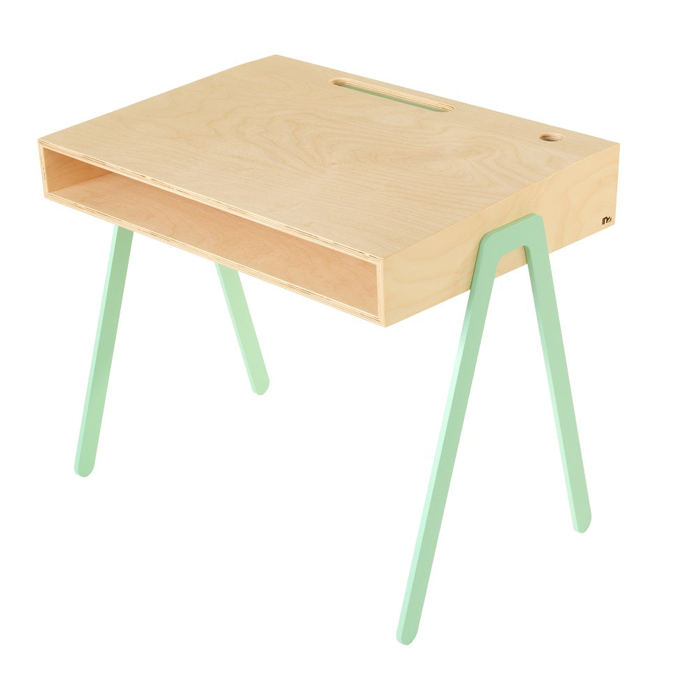 In2Wood - Kids Desk Large Mint