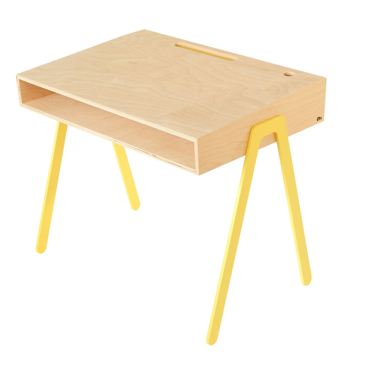 Kids Desk Large Yellow