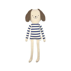 Knitted Dog Soft Toy Small by Meri Meri - minifili