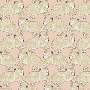 Bear Cub Wallpaper Powder by Fox and Roses - minifili