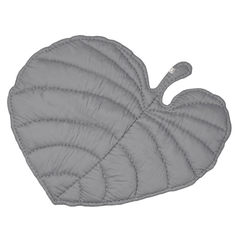 Leaf Play Mat Grey