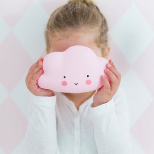 Cloud Night Light Pink by A Little Lovely Company - minifili