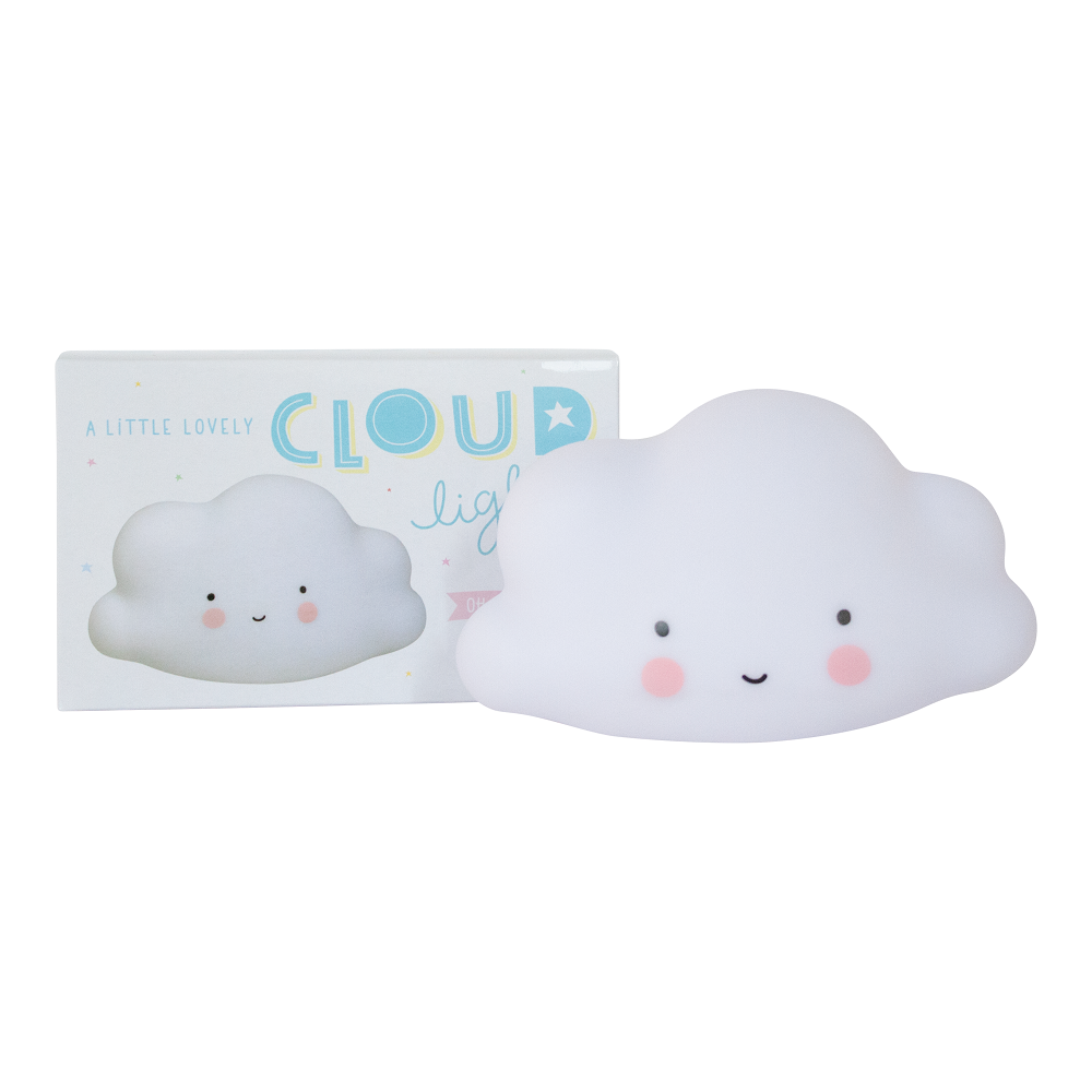 A Little Lovely Company - Cloud Night Light White