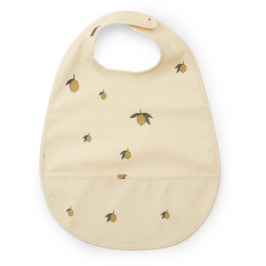 Lemon Coated Bib by Konges Slojd - minifili
