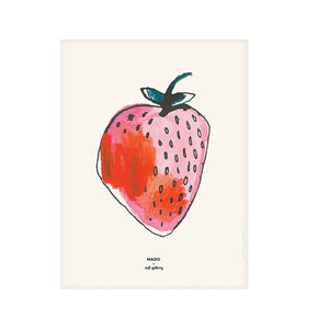 Strawberry Print by MADO - minifili