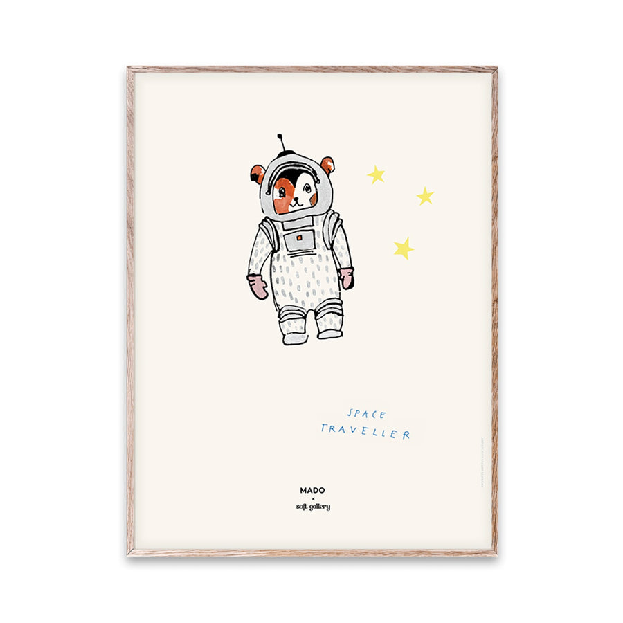 Space Traveller Print by MADO - minifili