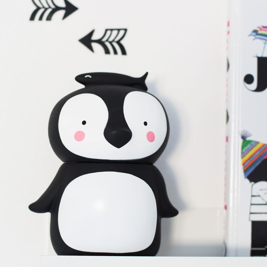 Penguin Money Box by A Little Lovely Company - minifili