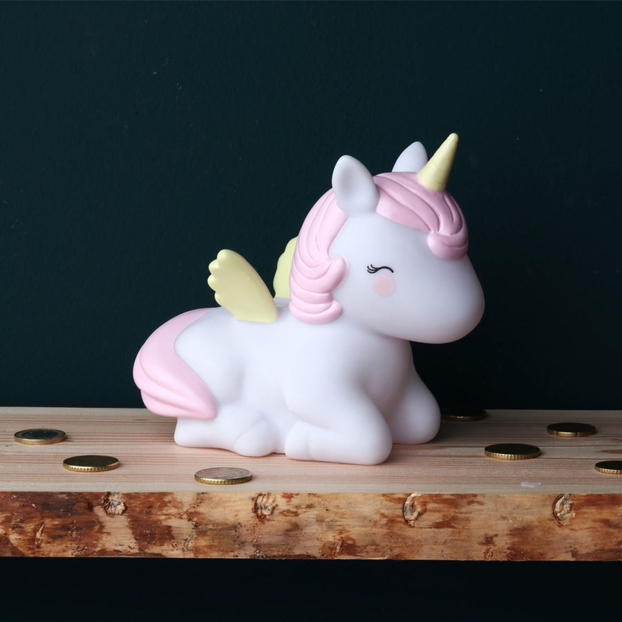 Unicorn Money Box by A Little Lovely Company - minifili