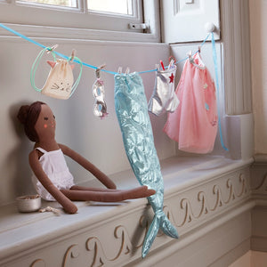 Mermaid Dolly Dress-Up Kit by Meri Meri - minifili