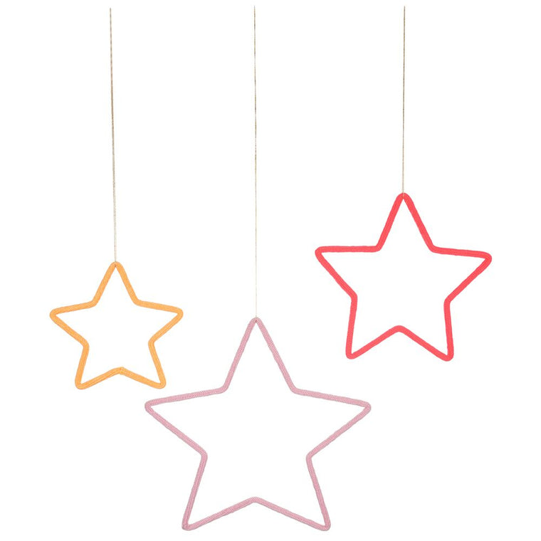 3 Stars Wall Decoration