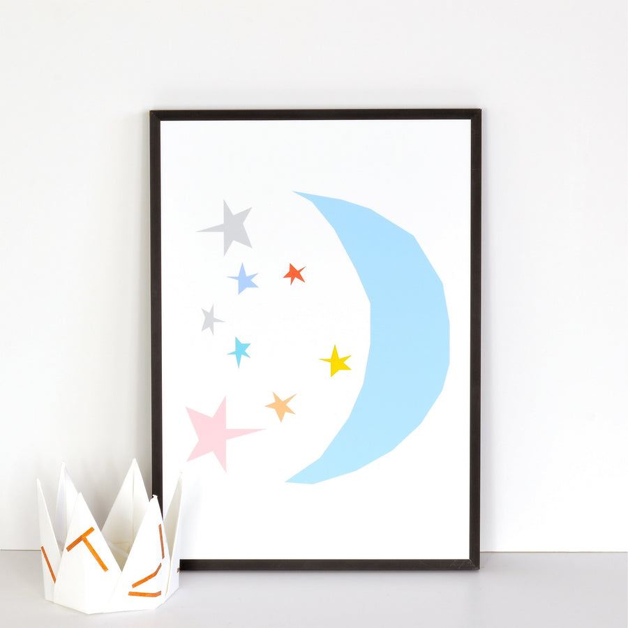 Moon Print by Ingrid Petrie Design - minifili