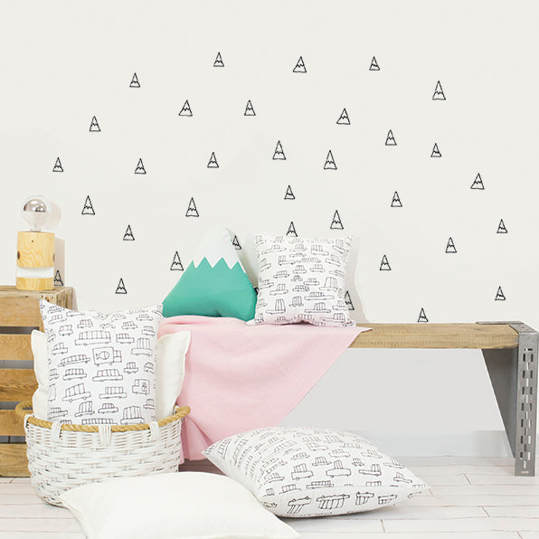Mountains Wall Decal by Chispum - minifili